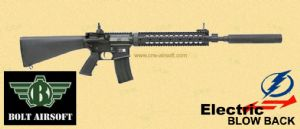 Bolt B4 MK12 MOD-1 (Fix A2 Stock)  Blow Back Recoil AEG
